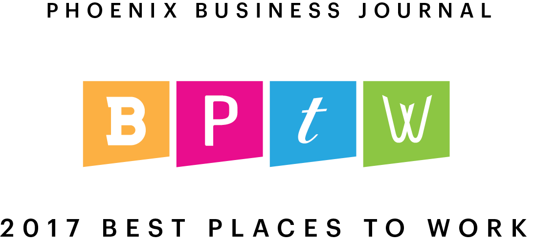 2017 Phoenix Business Journal Best Places to Work Award
